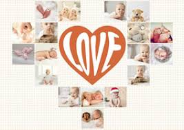 heart collage maker create heart photo collages online fotojet