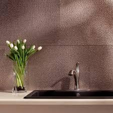fasade kitchen backsplash panels 24 in x 18 in hammered pvc decorative backsplash panel in