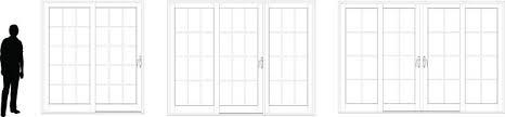 4 Panel Sliding Patio Doors Xtreme Sliding Glass Patio Doors Homefix Custom Remodeling