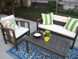 Blue Outdoor Cushions Decorating Exciting Pattern Outdoor Rugs Ikea For Inspiring Patio