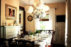 the celeste chandelier in a charming cottage dining room pottery