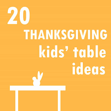thanksgiving kids table ideas 20 thanksgiving kids u0027 table ideas the decorated cookie