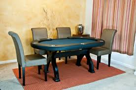 Poker Dining Room Table Poker Table Chairs For A Professional Poker Experience