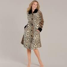 robe de chambre longue robe de chambre longue motif léopard léopard taubert 162801 110