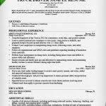 truck driver resume template truck driver resume sample and tips