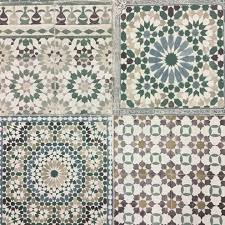 Moroccan Tile by Moroccan Tile Home Colour Green Deco4walls Moroccan Tile Green