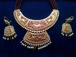 nagina choker set rajput dress