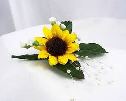 Where To Buy Corsages For Prom 25 Best Sunflower Corsage Ideas On Pinterest Sunflower