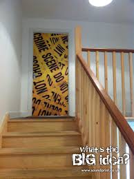 it s a crime showprint graphics door graphics
