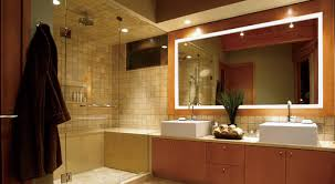 horizontal vs vertical led mirror lighting for a bathroom vanity