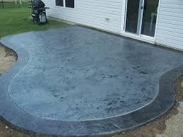 Stamped Concrete Patio Maintenance Sets Simple Patio Doors Stamped Concrete Patio On Clean Concrete