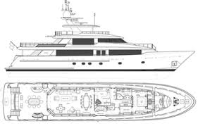 yacht event layout specifications westport 130 tri deck motor yacht 40m