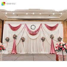 Wedding Backdrop Curtains For Sale Wedding Decoration Textile Cheap Wedding Drapes Mandap For Wedding