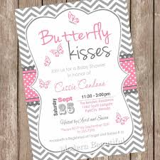 Baby Shower Invitation Cards Templates Free Butterfly Baby Shower Invitations Theruntime Com