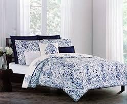 Queen Duvet Cover Pattern Nicole Miller Luxurious Designer Bedding 3 Piece Cotton Duvet