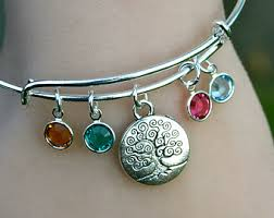 birthstone charm bracelet for ideas for stacking bracelets style wile