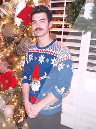 celebrities wearing christmas sweaters the best tacky christmas