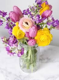spring floral arrangements 1 domestikatedlife