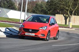 vauxhall corsa 2017 vauxhall corsa red edition 2016 review auto express