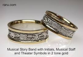 the story wedding band custom jewelry rings cigar bands car club badges