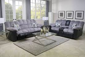 sofa couch set leather reclining sofa recliner brown couch grey