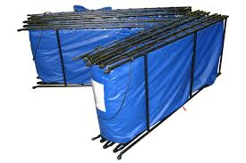 portable baptismal tank folding frame tanks