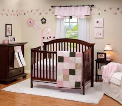 Circo Owl Crib Bedding by Baby Nursery Baby Room Furniture And Decorations Pink Green