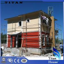 earthquake proof modular prefabricated steel structure house