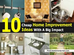 home decor ideas on a budget blog 10 cheap home improvement ideas with a big impact