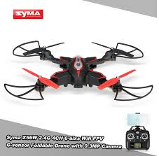 Radio Control Helicopters With Camera Foldable Rc Drone Syma X56w Drone Wifi Camera Fpv Rc Quadcopter