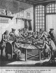 Bureau De Poste 7 - file bureau de poste à en 1760 organisé par m de chamousset