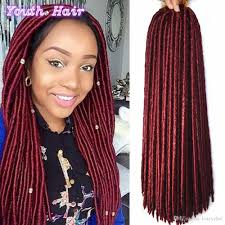 hair crochet 14 18inch mambo faux locs crochet hair extensions 24 roots