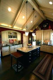 Recessed Kitchen Lights Pendant Lighting Vaulted Ceiling For Ceilings Image Of Kitchen