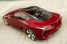 top lexus coupe lexus lf lc hybrid concept coupe pictures and details