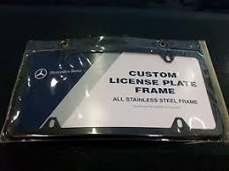 mercedes license plate holder oem genuine mercedes black curved license plate frame front
