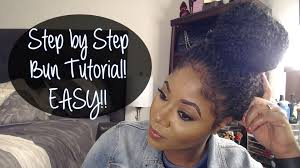 put your hair in a bun with braids step by step high bun crochet braids tutorial youtube