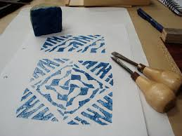 Block Print Wallpaper How To Make Printed Wallpaper With Hand Block Printing From