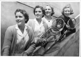 adelaide research u0026 scholarship 1950s women tennis players