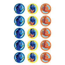 firefighter cupcake toppers finding dory edible icing cupcake toppers x 15 kids themed party