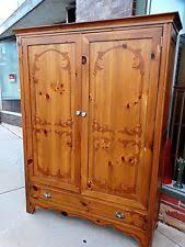 Cedar Wardrobe Armoire Antique Armoires U0026 Wardrobes 1900 1950 Ebay