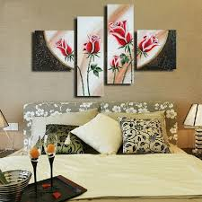 home decoration painting the shopping cart manual oil painting factory direct selling home