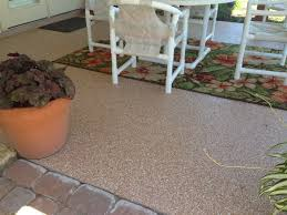 epoxy flooring with 100 flake floor for patio anti slip and