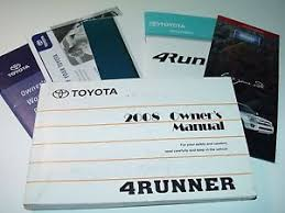 1998 toyota 4runner owners manual cheap owners manual toyota find owners manual toyota deals on