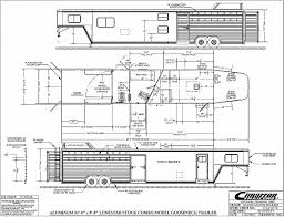 horse trailer living quarter floor plans horse trailer living quarter floor plans fresh 2017 cimarron stock