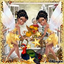 thanksgiving tinkerbell picture 118694922 blingee