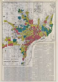Map Of Dallas Area Detroit Redlining Map 1939 Detroitography