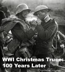 wwi christmas truce 100 years later