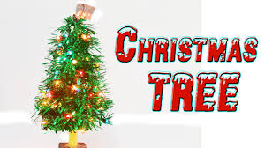 make a christmas tree christmas craft ideas youtube