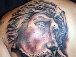 tattoos of jesus christ on the cross cool tattoos bonbaden