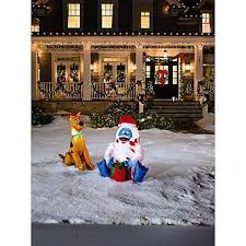 Rudolph The Red Nosed Reindeer Christmas Decorations Rudolph The Red Nosed Reindeer Abominable Snowman Air Blown